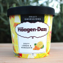 Glaces Häagen-Dazs 500ml - Yuzu citrus & cream