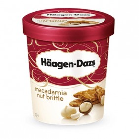Glaces Haägen Dazs 500 ml - Macadamia nut brittle